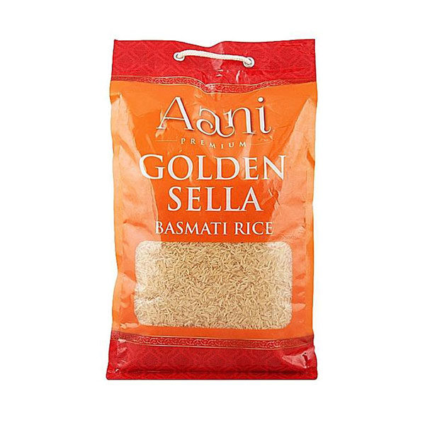 Bag of Aani Golden Sella Basmati Rice