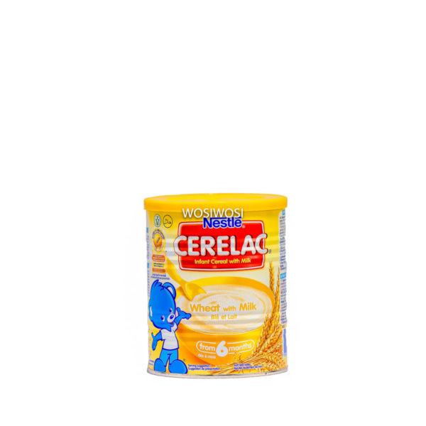 A tin of Cerelac baby food