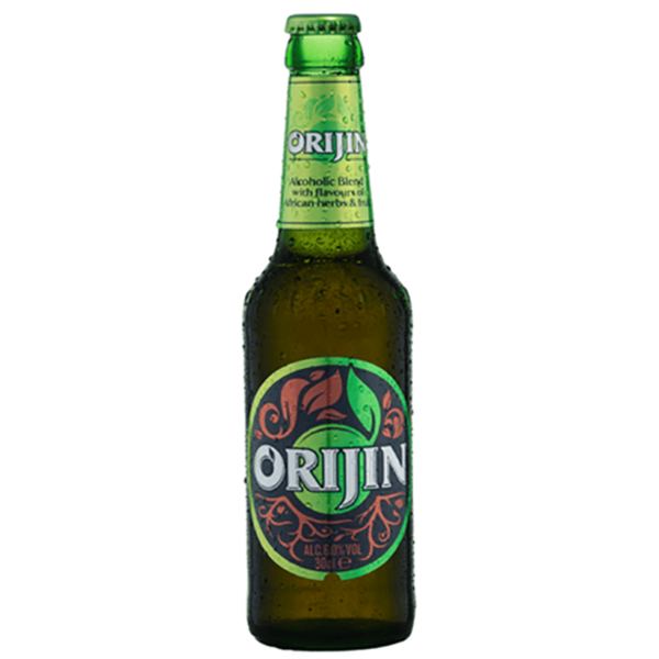 Bottle of Orijin beer