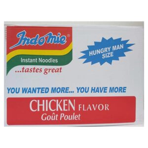 Indomie Chicken Hungry Man Size 24x180g